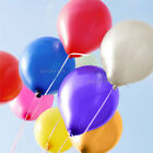 New 50 Pearlised Latex Helium Balloons Decorations Wedding Party Birthday