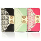1PC Cute Flip Wallet Leather Case Cover for Samsung Galaxy S3 MINI Avant