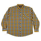 New Mens Ben Sherman Mod Easy Union Fit Check Print Classic Long Sleeve Shirt