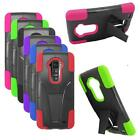Phone Case For LG G Flex Hybrid Rugged Hard Cover KickStand - AT&T / Sprint