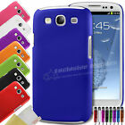 HYBRID HARD BACK CASE COVER FITS SAMSUNG GALAXY S3 I9300 SCREEN PROTECTOR