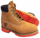 Timberland AF 6 Inch Premium Mens Leather Lace Up Wheat 6326A D98