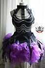 Medieval Warrior Chain Armor Corset Goth Punk Rib Cage Choker Leather Vest Larp
