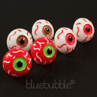FUNKY EVIL EYE EARRINGS SPOOKY CRAZY COOL FUN HALLOWEEN VAMPIRE DEVIL EMO GOTH 8