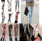 Hot Sell Fashion Women's Punk Funky Leggings Stretchy Pencil Skinny Sexy Pants