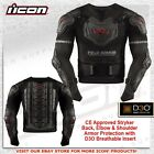 Icon Stryker Rig 3D0 CE Armor Motorcycle Riding Protection Jacket
