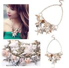 Never Miss Multielement Pearl Beads Shell Bracelet Conch Starfish Necklace Set