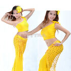 Attractive Ladie Dance Dancing  Shawl Hip Scarf Dancewear Costumes NEW JRAU