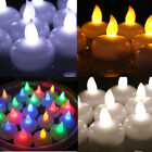 12 PCS Waterproof LED Floating Flicker Tea Light Flameless Candle Wedding Party