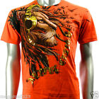 Artful Couture T-Shirt M L XL XXL Tiger Wild Music Punk Tattoo Skateboard AO2 D1