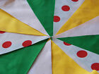 Tour De France Handmade Fabric Bunting different lengths Celebrations Party
