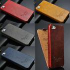 Hottest New 5 Color Luxury Genuine Flip Leather Case Cover For iPhone 5 5S 5th