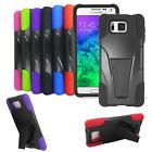 Phone Case For AT&T Samsung Galaxy Alpha G850a Smartphone Rugged Cover Stand