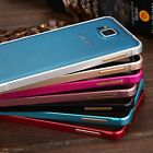Slim Metal Aluminum Frame Bumper Hard Case Cover For Samsung Galaxy Alpha G850F