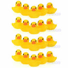 Lot 1 /5 /10 /20Pcs Yellow Baby Children Bath Toys Cute Rubber Squeaky Duck Ducky