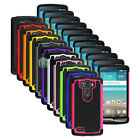 Hybrid Rugged Rubber Matte Hard Case Cover Skin for Android Phone LG G3