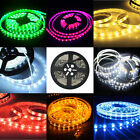 3528 5050 5M 300 SMD 12V LED Flexible Strip Light Tape Roll Warm White Adapter