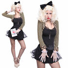 1980s Pop Star Celebrity Wild Child Madonna Costume Hen Night Fancy Dress