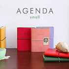 New AGENDA Small Diary Undated Diary Planner Organizers_Synthetic Leather