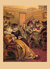 Cats Poker Cards Casino Game Room Fashion Feline Fun Poster Repro FREE S/H