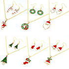 Hot Selling Fashion Chain Jewelry Bib Christmas Gift Necklace Earrings Brand New