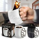 STYLISH FIST MUG KNUCKLE DUSTER FINGER MUG CERAMIC CUP TEA COFFEE MILK GIFT NEW