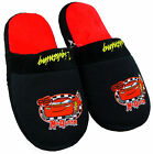 Boys Disney Pixar CARS Lightning McQueen Slippers Mules UK Shoe Sizes 10 - 2 NEW