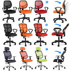 Executive Ergonomic Mesh Computer Task Office Desk Chair Swivel Adjustable New