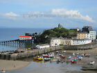 BEAUTIFUL High Quality Original Canvas Print   TENBY HARBOUR