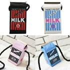 Popular Girls Canvas Shoulder Bag Milk Cartons Crossbody Bags Mik Box Peculiar S