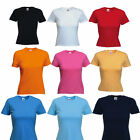 Fruit of The Loom Women's Ladies Cotton Plain Blank T-Shirt