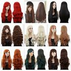 SEXY WOMEN'S LONG CURLY FANCY DRESS WIGS COSPLAY LADIES FULL HAIR WIG PARTY+GIFT