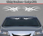 Design #110 Tribal Swoosh Windshield Decal Window Sticker Vinyl Graphic Banner