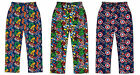 Mens Boys Marvel Avengers Lounge Bottoms Pants Pyjamas Hulk Thor Iron Man S-XL