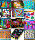 Fashion Soft 100% Silk Abstract Animals Many Design Shawl/Scarf/Stole/Wrap New