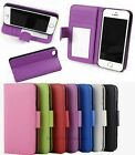 Folio Flip Wallet PU Leather Case Cover Stand For iPhone 5C 5S 6C 6Plus