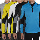 Catmandoo Mens Performance Stretch Thermal Long Sleeve Mid Layer Golf Ski Top