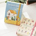 New 7321 Design The Daily Story Diary Undated Planner Organizers+Stickers