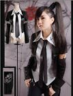 fashion Visual Kei Rock black Punk Gothic Lolita t-shirt Blouse nana S M L XL