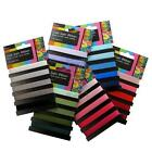 10mm 5m Satin Ribbon Shades on Card 6 Colours Sewing Arts & Crafts Card Making