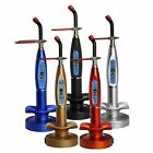 Dental Curing Light Wireless Cordless LED Cure Lamp 1500mw 5W 5Colors
