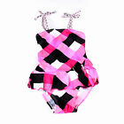 IMAKA New Swim Beachwear Cuter Baby Girls Swimsuit Skirt Swimwear SZ2-11Y Q63903