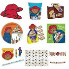 PADDINGTON BEAR Birthday PARTY RANGE (Tableware Balloons & Decorations)