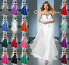 New Beaded Gorgeous Evening/Prom Dresses Bridesmaid Gowns Party Formal Size 6-26
