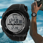 Stylish Men's LCD Digital Watch Date Waterproof Rubber Sport Casaul Wrist Watch1