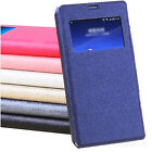 For Samsung GALAXY S5 Mini Slim S-View Flip Wallet Smart Leather Case Cover