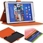 PU Leather High Quality Case Cover For Sony Xperia Z3 Tablet Compact Tablet MY