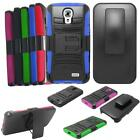 Phone Case For Straight Talk LG 31G LTE Rugged Cover Stand with Holster Clip