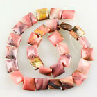 K59811 13x5mm Rhodonite oblong loose beads 28pcs