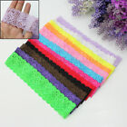 Baby GIRLS /TODDLER LACE STRETCH ELASTIC HEADBAND MANY COLOURS
